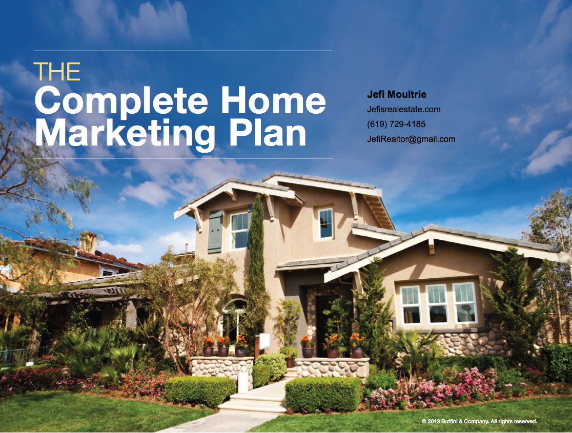Jefi Moultrie Complete Home Marketing Plan
