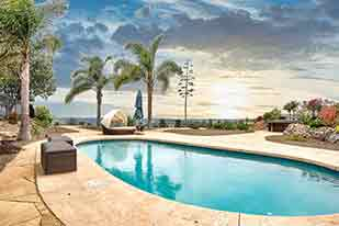 4622 Lawler Court La Mesa California Backyard Pool with a view of La Mesa