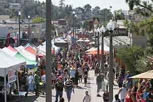 La Mesa Oktoberfest in historic downtown la mesa village