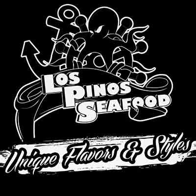 Los Pinos Seafood La Mesa logo