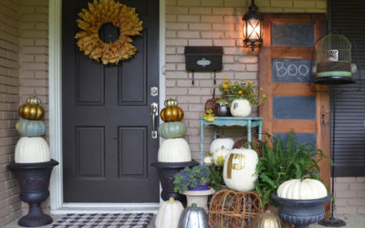 10 Ideas for Decorating Pumpkins That Up Your Gourd Game Big-Time