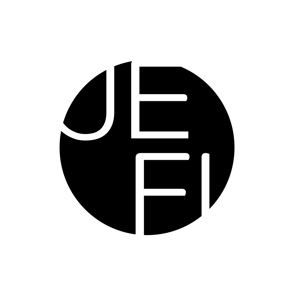 logo in black jefi real estate agent